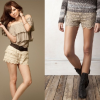 Tips for combining lace shorts