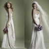 Classic vintage style romantic dresses for brides