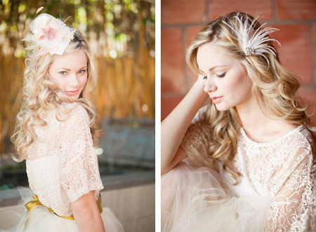 4 retro hairstyles for brides