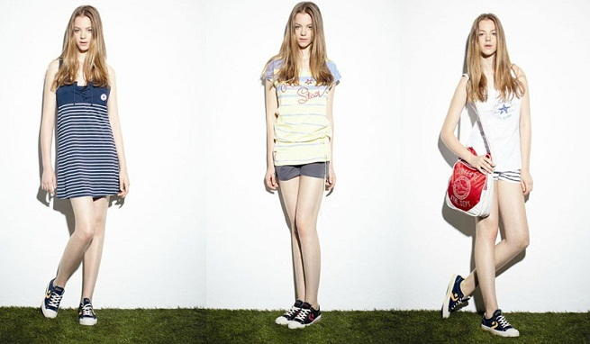 Converse clothing collection Spring-Summer 2012