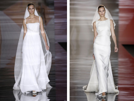How to choose the most appropriate wedding dress for Wedding dresses straight cut