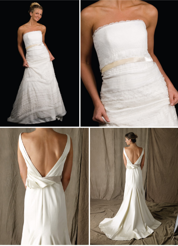Simple wedding dresses11 Simple wedding dresses   Beautiful Lines and clean