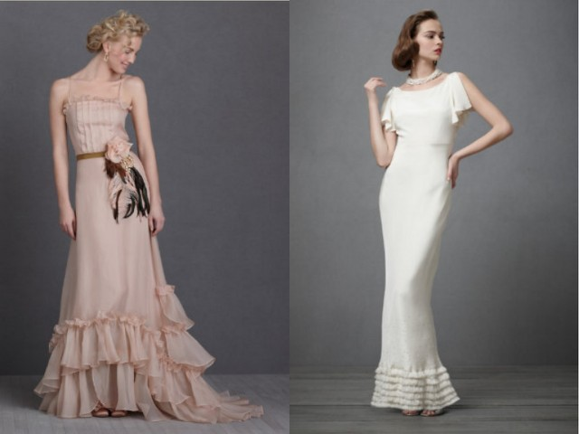 Wedding dresses vintage Bhldn
