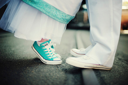 Converse shoes original models for engaged couples