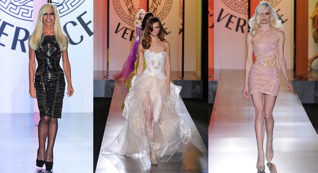Versace dresses for fall-winter 2012/2013