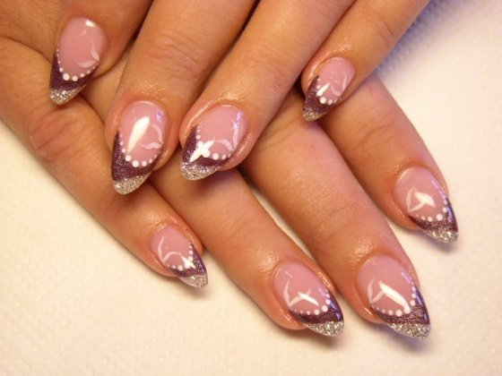 Luxury Nail Art Design: Luxury Nails: Beautiful Acrylic Nail Designs With