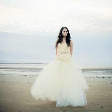 Romantic wedding dress on Etsy - Source: makemeadress