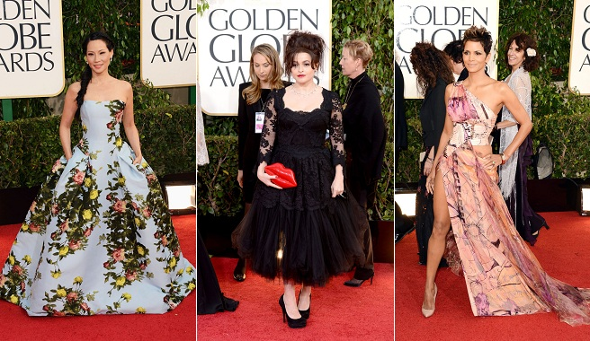 The worst dressed of the 2013 Golden Globes