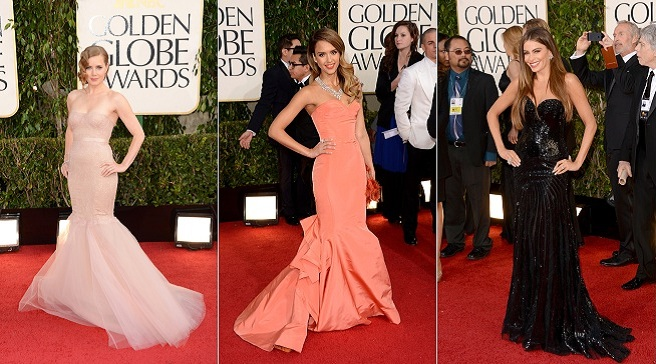 The best dressed of the 2013 Golden Globes
