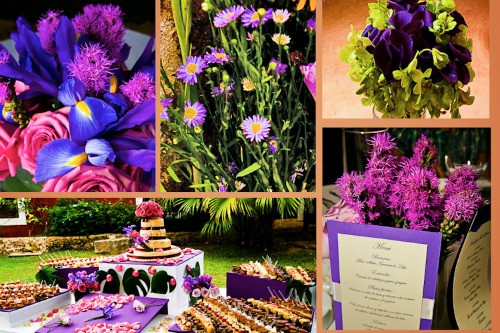 Shades of colors for your wedding decorations. Photo: Jaime Gles