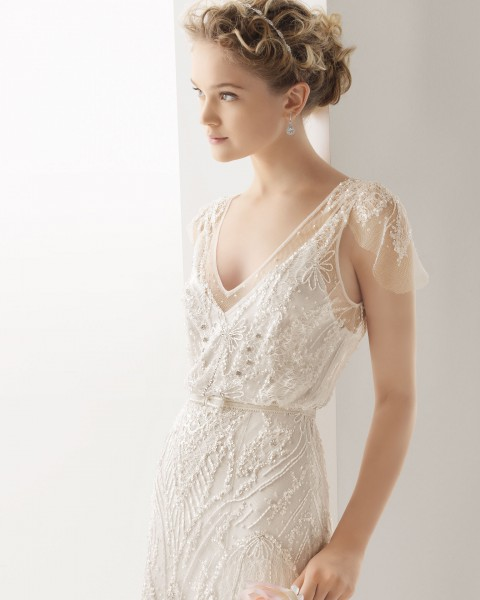 Civil wedding dresses or remarriage wedding dresses for Bridal dress for civil wedding