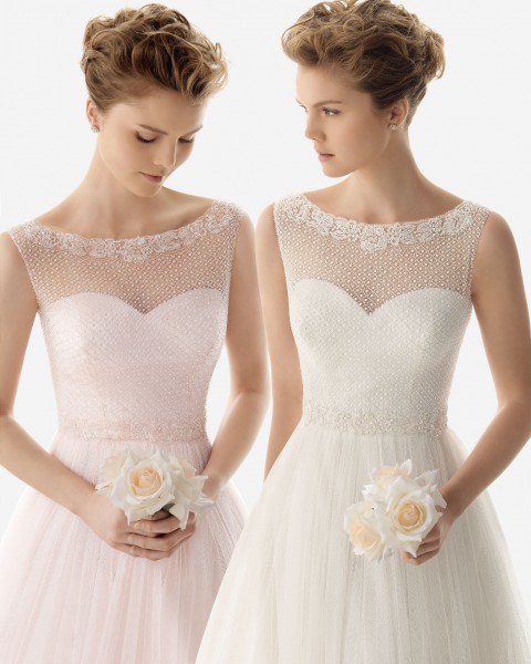 Civil wedding dresses or remarriage wedding dresses shinedresses wedding dresses for civil wedding or remarriage soft by rosa clara collection 2014 junglespirit Gallery
