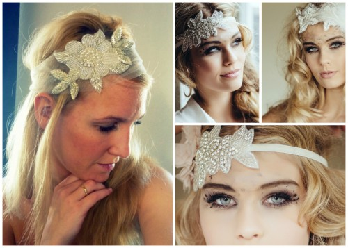 The headband is the great wedding trends 2014. Photo: Chia Accessories