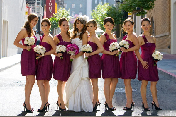 Bridesmaids Wardrobe Rules