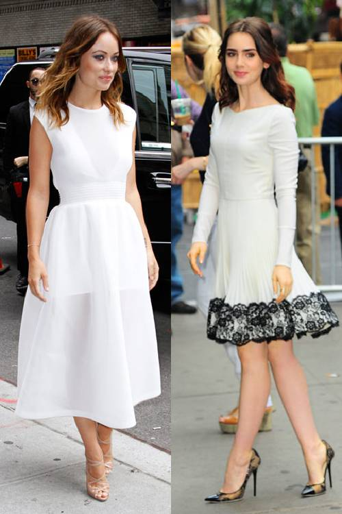 Tips for wearing a white dress