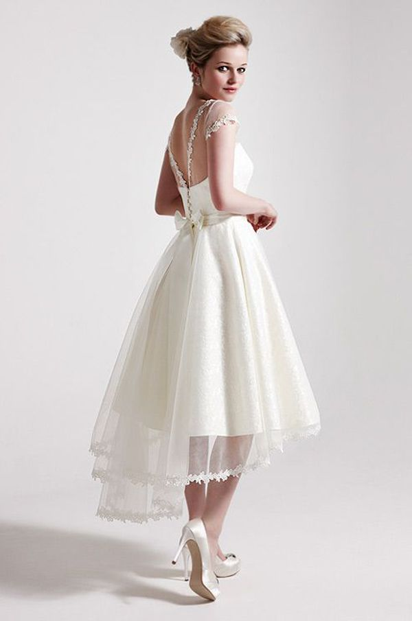 How To Pick Out Elegant Short Style Wedding Gowns Shinedressescom - Short Casual Wedding Dress