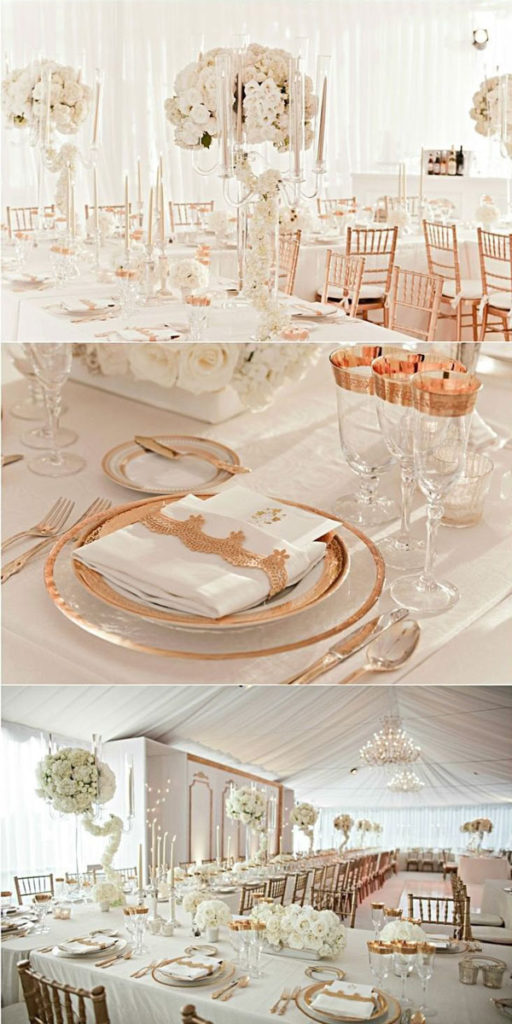 Afternoon Wedding Reception Ideas in Winter - Shinedresses.com