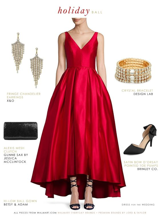 2d0940cbcd61 What Color Shoes to Wear with Red Prom Dresses - Shinedresses.com