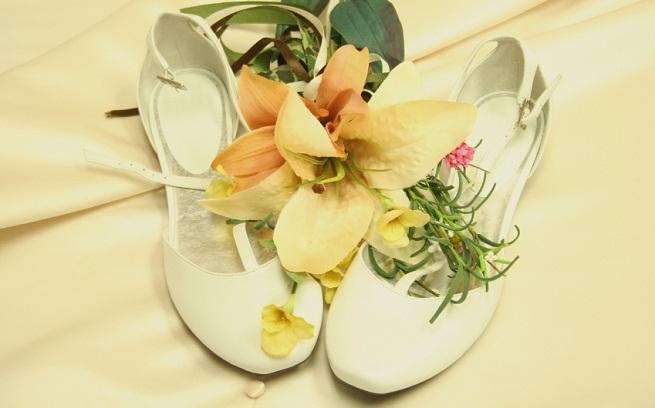 Brides shoes for dancers
