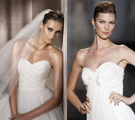 Wedding dress necklines: Select it as your body type