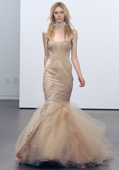 Vera Wang Fall 2012 Bridal Gowns