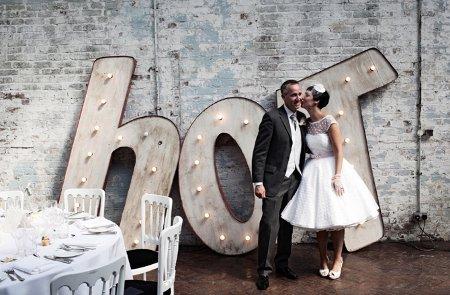 Sixties wedding style
