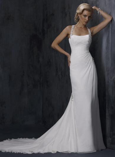 Simple Wedding Dresses 2012