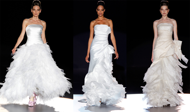 Cibeles Madrid Wedding Dresses 2012