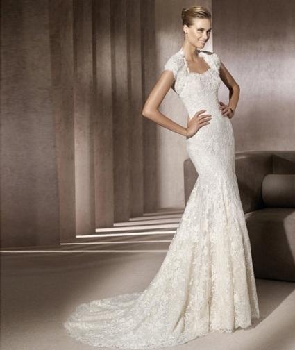 The 8 most beautiful mermaid wedding dresses 2012