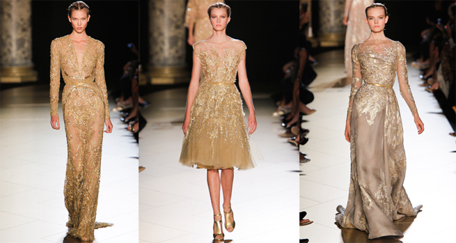 Elie Saab Couture Dresess for autumn-winter 2012-2013