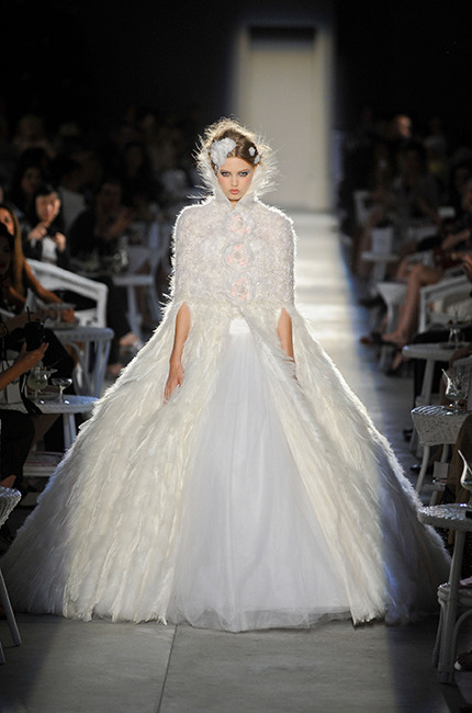 Bridal Gowns 2013: Heroin at Chanel Couture