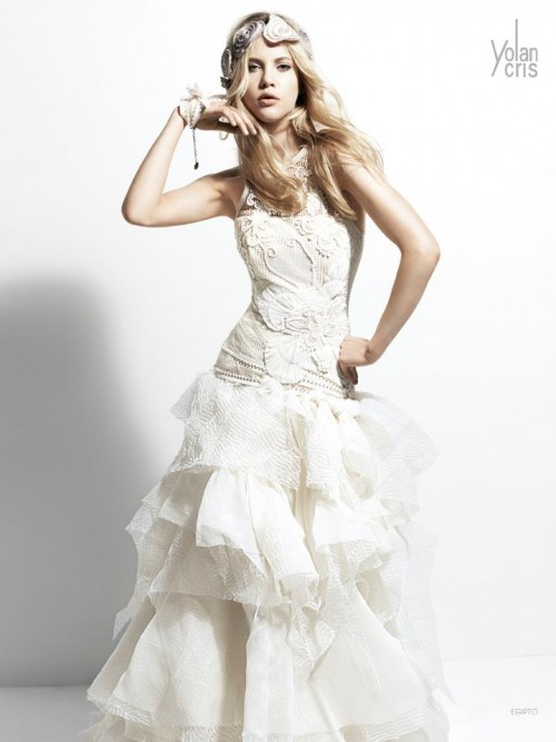 Key rock collection of wedding dresses Yolan Cris 2013