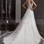 Beautiful Elegant Lace Wedding Dress 2014