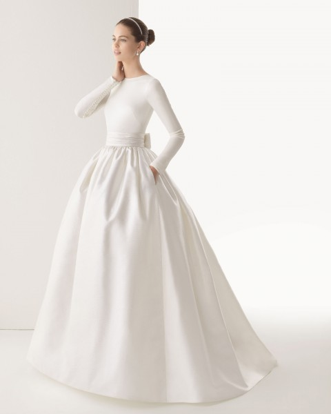 2014 WEDDING DRESSES WITH POCKETS
