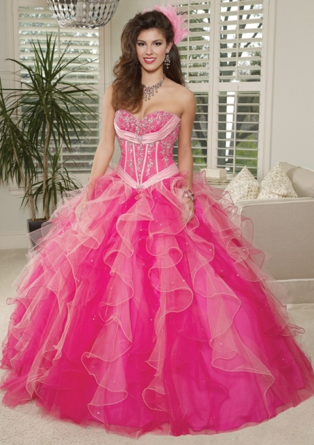 Choose the perfect gift for your quinceanera dress and Sweet 15