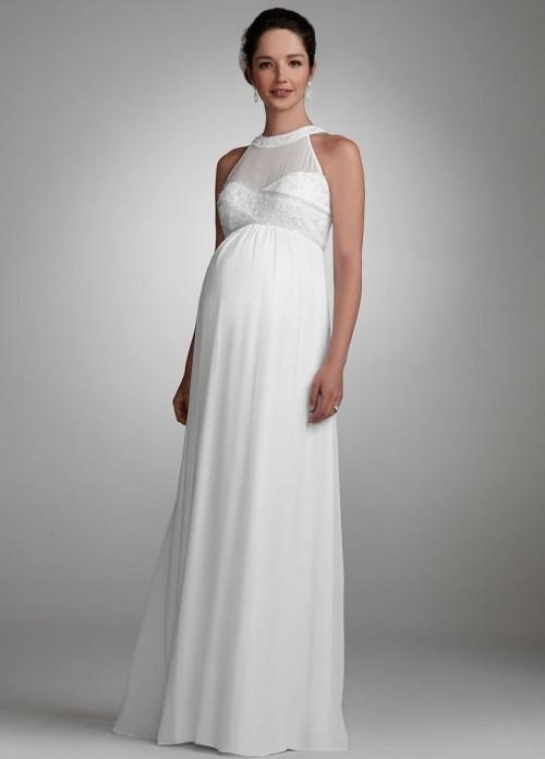 Wedding Dresses for Pregnant Women 2015