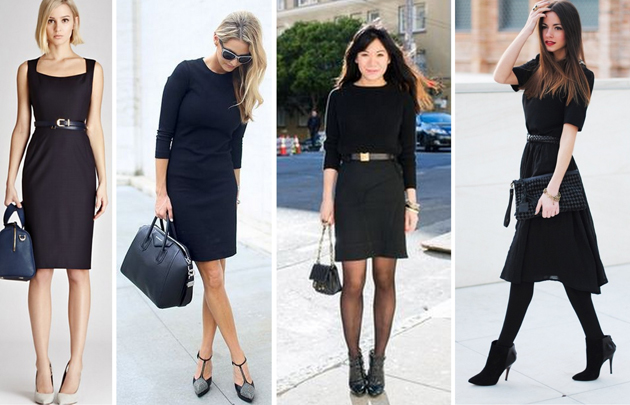 How to wear a black dress Perfectly?