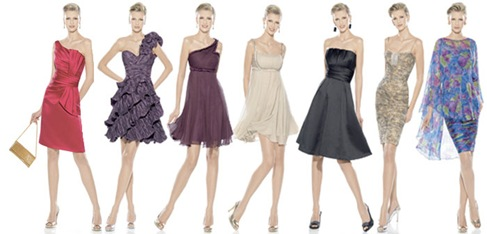 2012 Short Prom Dresses Rosa Clara