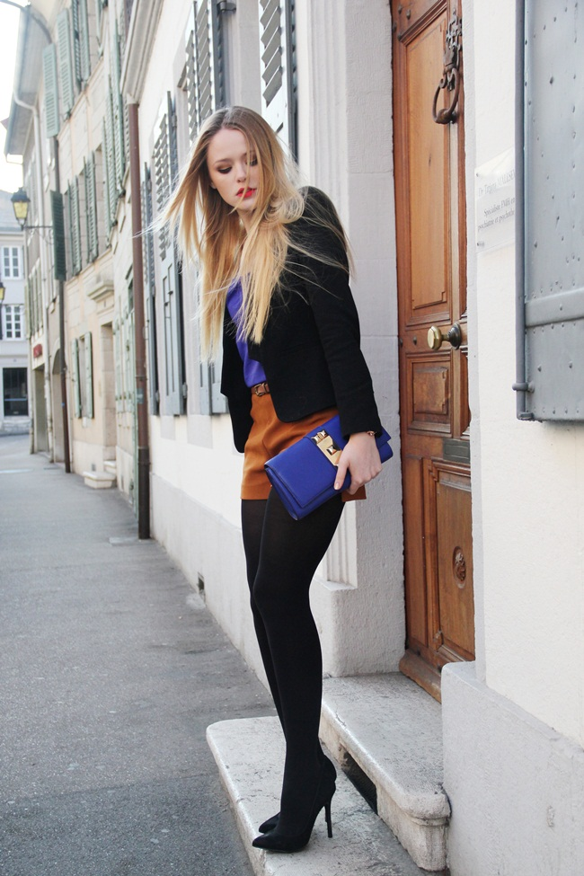 Girly Fashion:ROYAL BLUE DETAILS